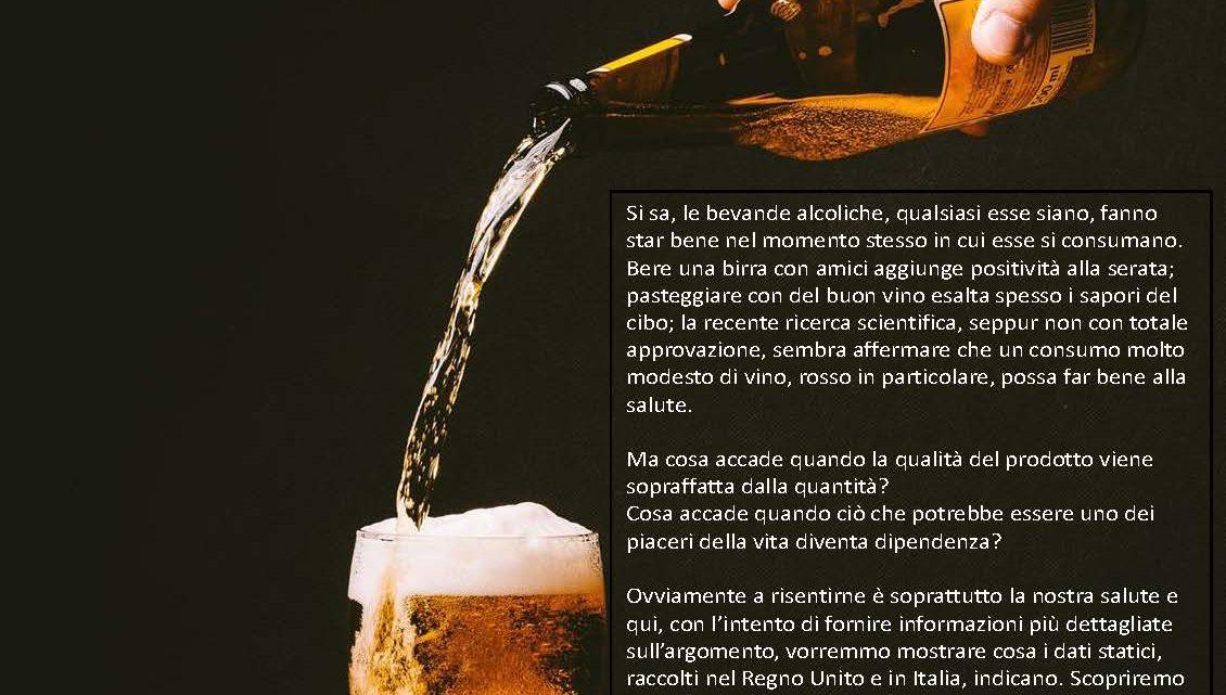 Alcol nel Regno Unito e in Italia l'analisi statistica