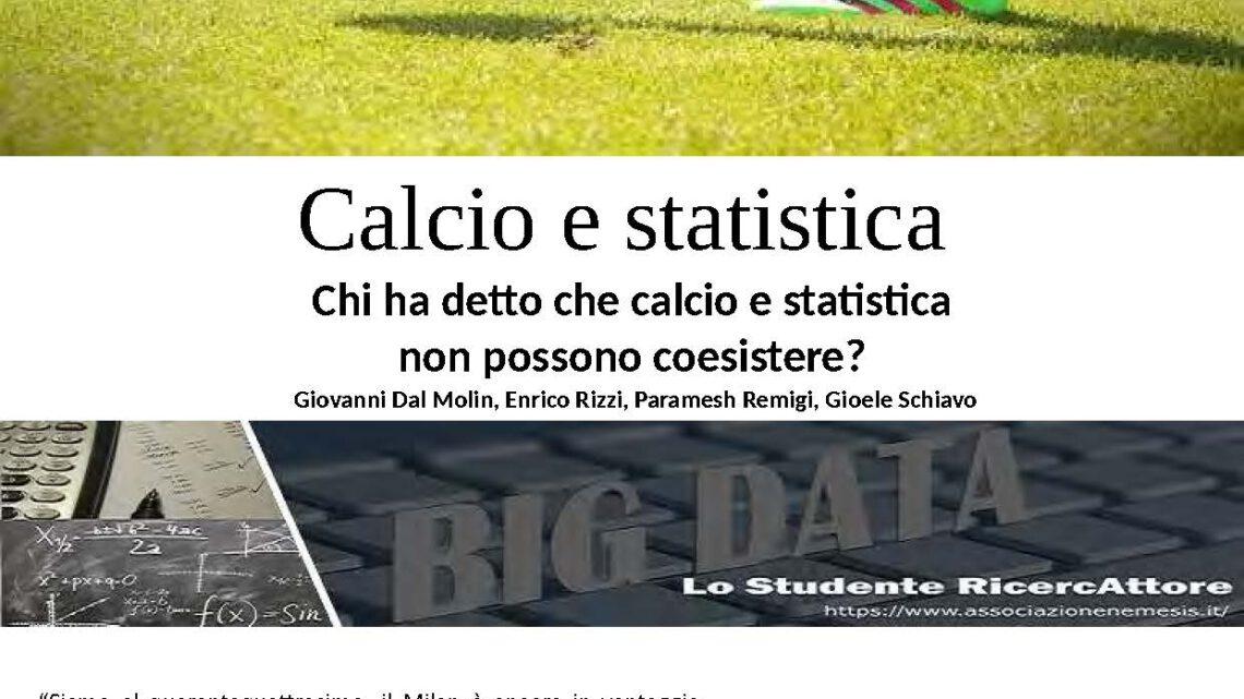 Calcio e statistica